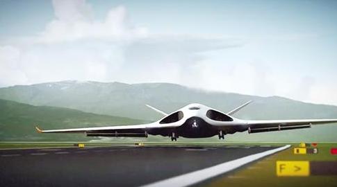 这种采用飞翼式气动布局的大型飞机令人印象深刻