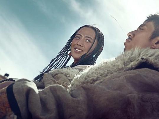 80后藏族新人结婚照 走红微信朋友圈