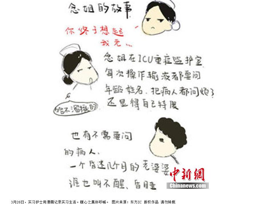 小护士手绘漫画版实习报告