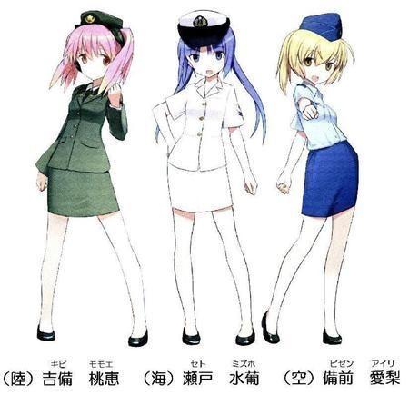 日本 冈山县/日本自卫队用超萌卡通人物帮纳新