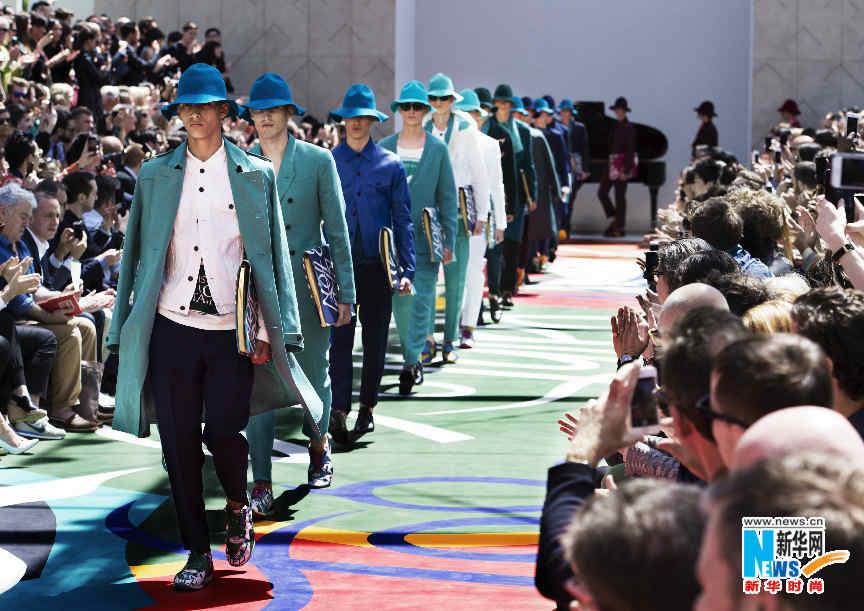 burberry2015年春夏男装系列发布
