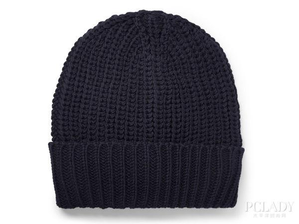 黑色毛线帽 lanvin ¥1295