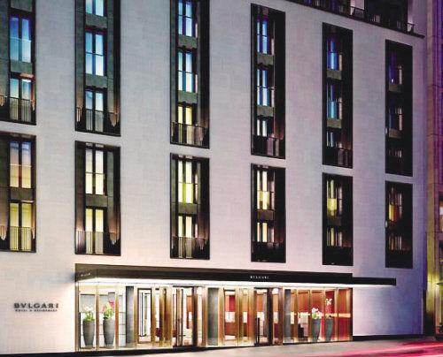 宝格丽伦敦新设奢华酒店