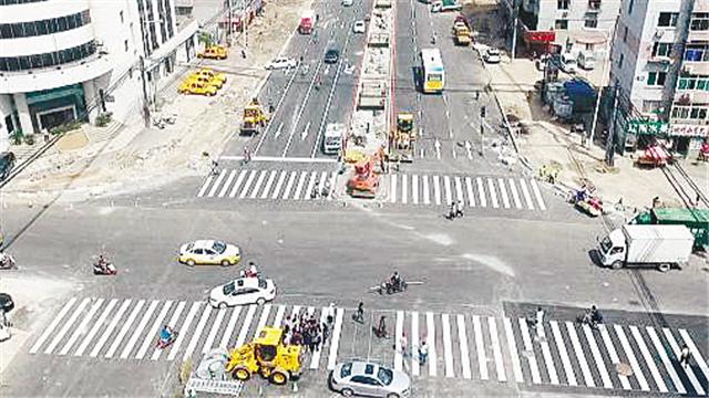 沈阳南北快速干道地面机动车道恢复通车