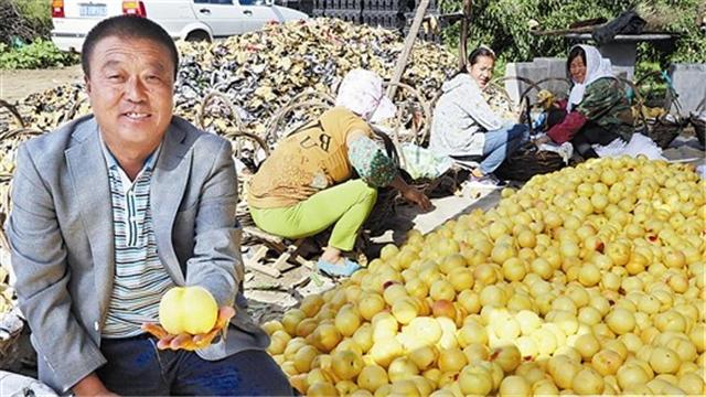 今年市場都認(套袋)黃桃