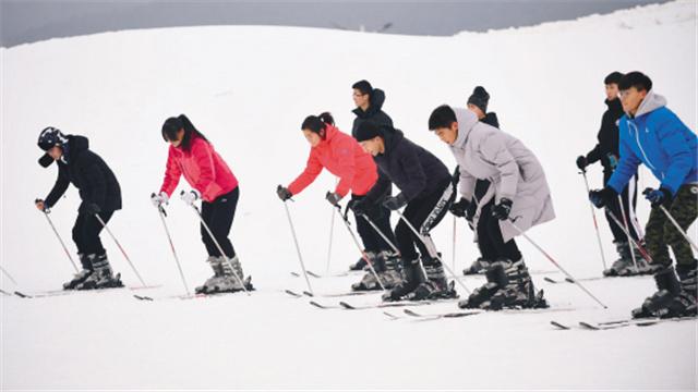 """""""學滑雪是我的必修課"""""""