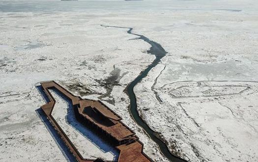 直击辽东湾海冰