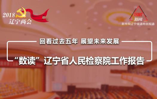 """""""数读""""辽宁省人民检察院工作报告"""