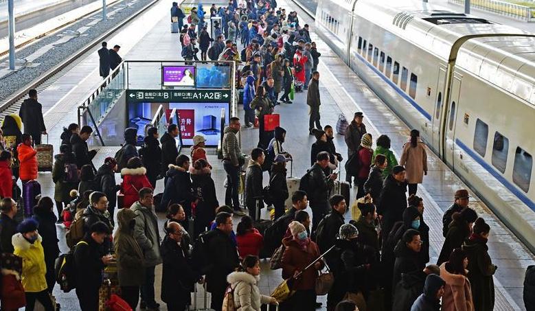 中國鐵路沈陽局集團有限公司迎來客流返程高峰