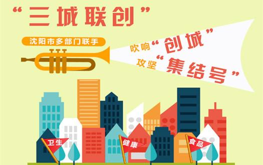 """【圖解】沈陽吹響""""創城""""攻堅""""集結號"""""""