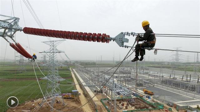 【视频】辽西地区两条500千伏输变电工程进入收尾阶段