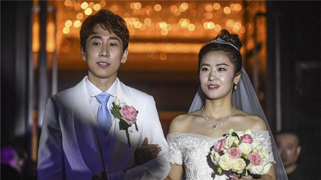 韓天宇、劉秋宏在撫順舉行婚禮