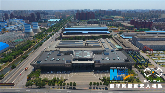 聽,建築在訴説丨航拍中國工業博物館