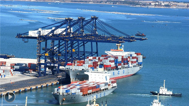 【视频】大连市港口货物吞吐量超过2.3亿吨