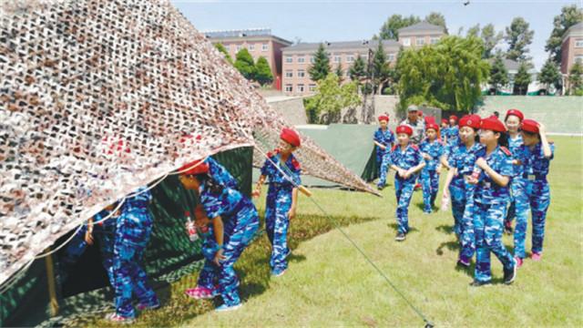 沈阳青年大街小学开展国防教育主题实践活动