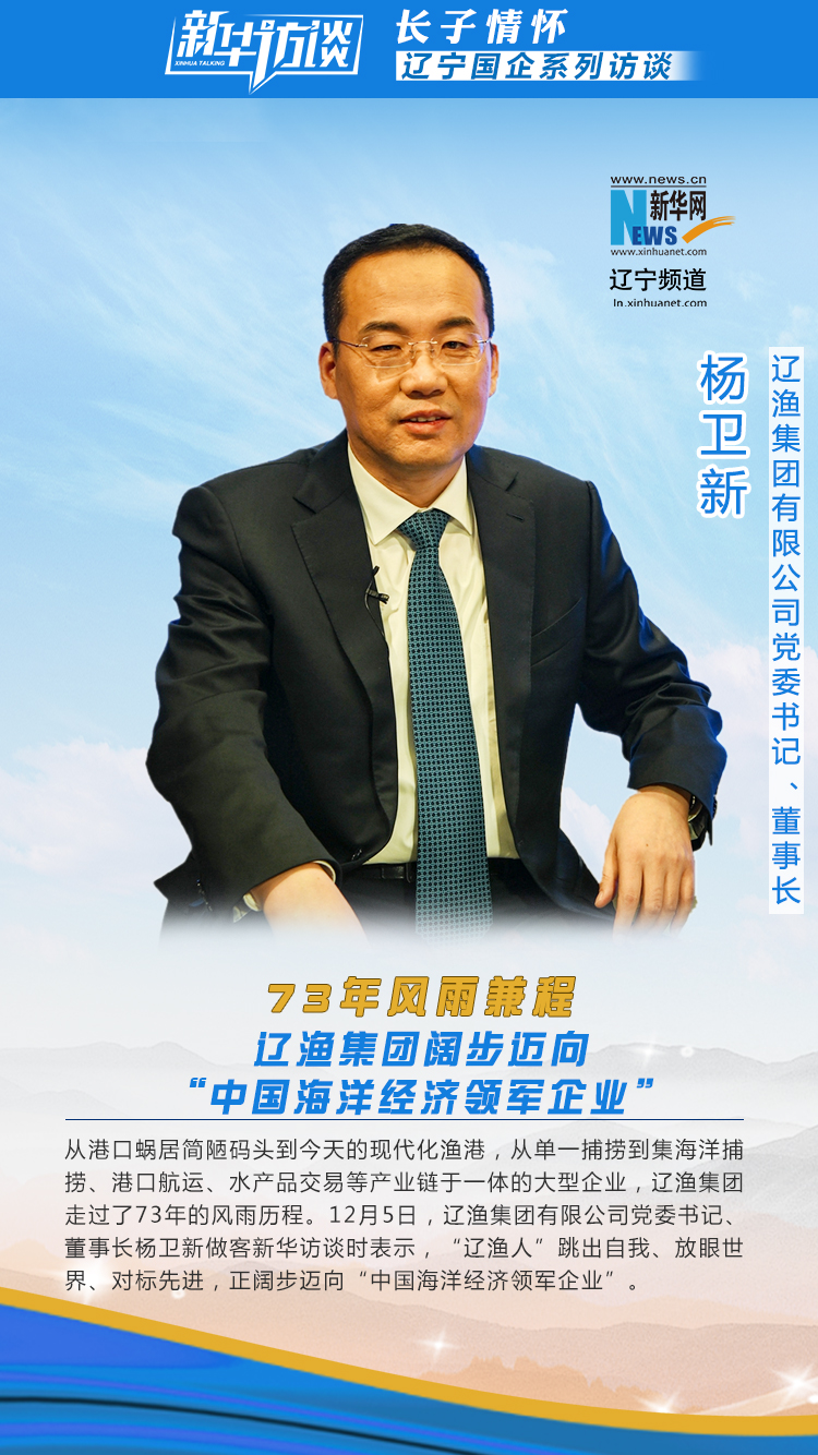 73年風雨兼程 遼漁集團闊步邁向中國海洋經濟領軍企業