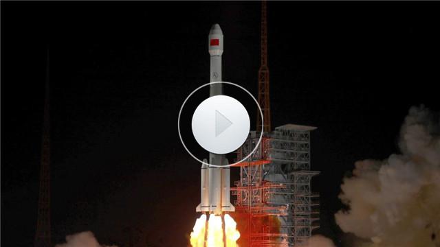 """【视频】""""中星2D""""卫星成功发射 中国航天2019年实现开门红"""