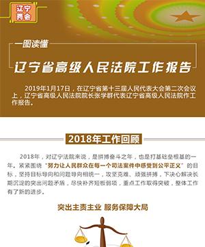 一圖讀懂 遼寧省高級人民法院工作報告