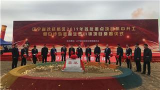 沈撫新區49個重點建設項目集中開工 總投資349.2億元