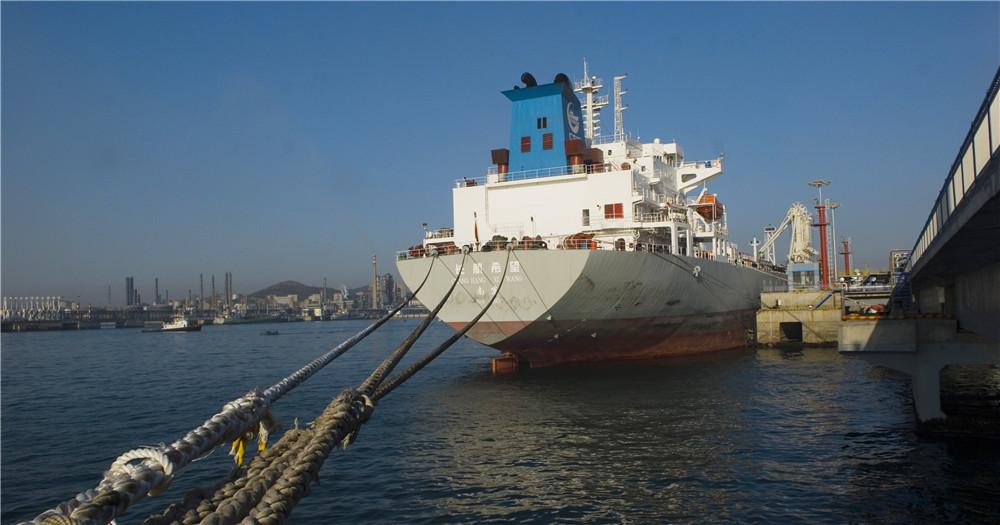 大連石化5萬噸成品油碼頭投入使用