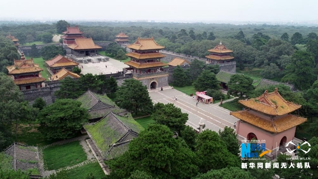 航拍:世界文化遺産——清昭陵