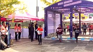 【視頻】遼寧省沿海六城市定向賽在丹東舉行