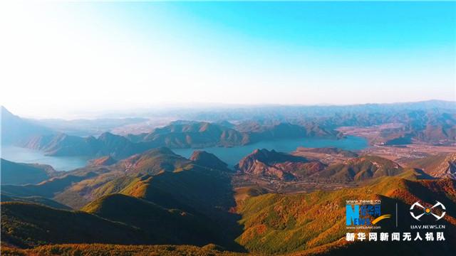 航拍(pai)遼南步雲(yun)山(shan)——層林盡染 漫山(shan)紅(hong)遍