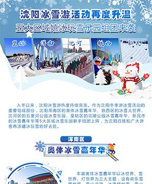 沈陽冰雪遊活動再度升溫 五大區域嬉冰玩雪樂園組團來襲