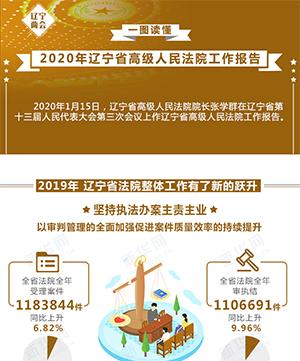 一圖讀懂(dong)|(gun)2020年(nian)遼寧省(sheng)高級人民法院工作報(bao)告