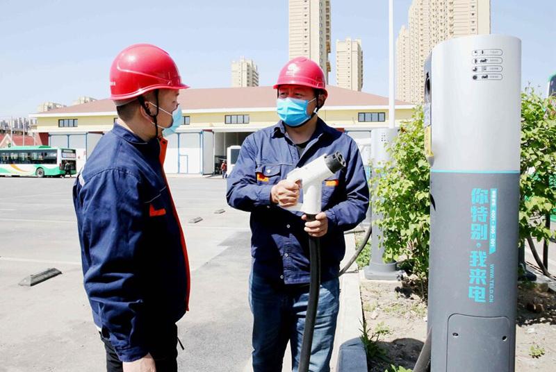 國網撫順供電公司:推進新能源充電樁建設 助力市民綠色出行