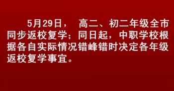 復(fu)工復(fu)課進(jin)行時︰沈(shen)陽市中(zhong)小學返校復(fu)學時間公布