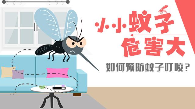 如何預防蚊子叮咬?