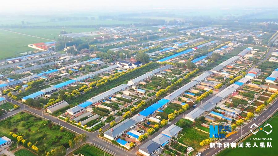 """【飛""""閱""""中國】遼寧盤錦:現代化農村的小康生活"""