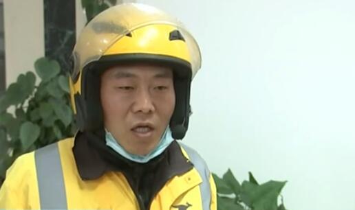 遼寧大連:外賣騎手冒險火中救人 獲見義勇為嘉獎