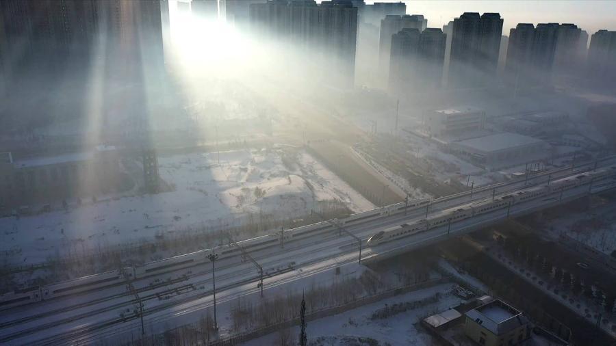 京哈高鐵全線貫通