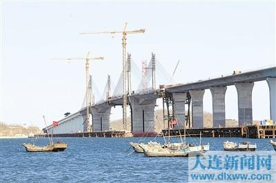 沈阳人春节可乘高铁去天津去青岛 长山大桥昨日合龙 新华