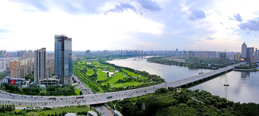 浑河大桥; 沈阳浑河美景; 沈阳卧龙湖风景区